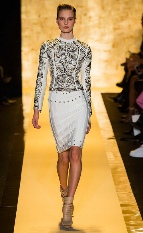 [Herve Leger Fall 2015 Collection]