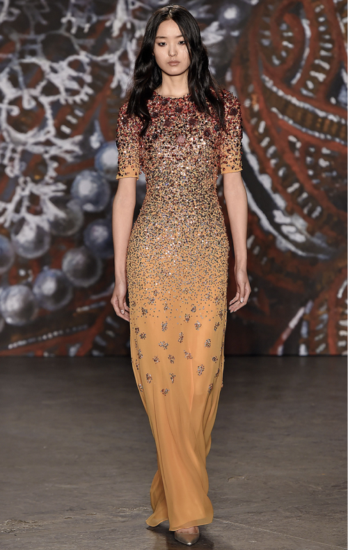 [Jenny Packham Fall 2015 Collection