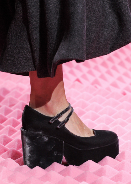 Mary Katrantzou fall 2015 shoes