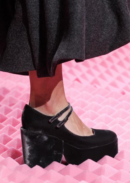 Mary Katrantzou fall 2015 shoes