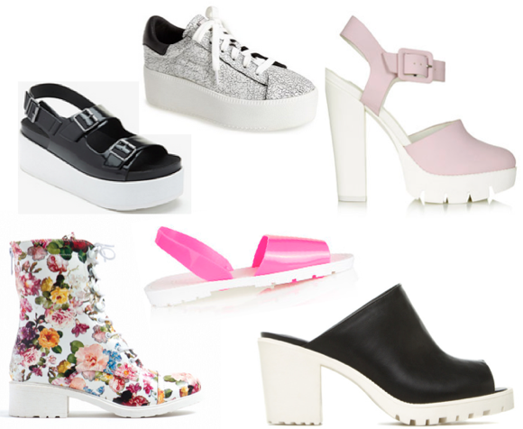 lug sole shoe trend flatform shoes -1