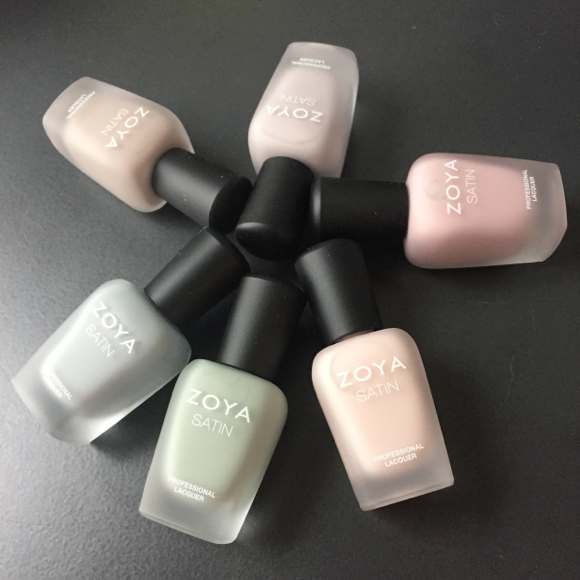 zoya satin collection
