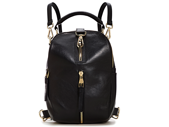 Black Strap Backpack
