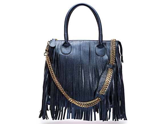 Blue Tassel Bag TJ