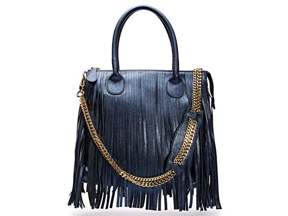Blue Tassel Bag TJ