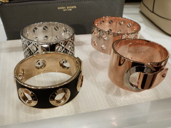 Henri Bendel for Spring 2015 cuffs