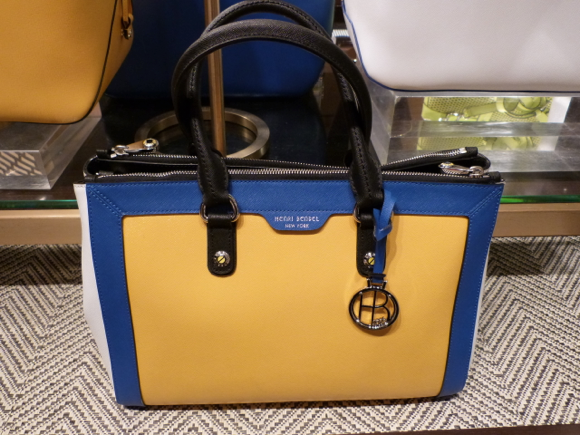 Henri Bendel for Spring 2015 handbag