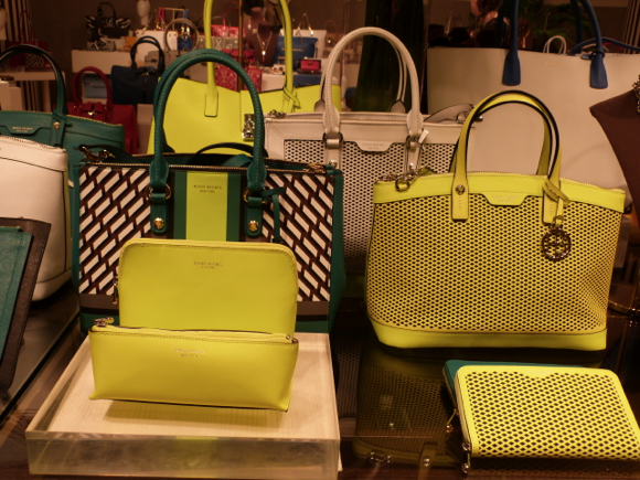 Henri Bendel for Spring 2015 handbags