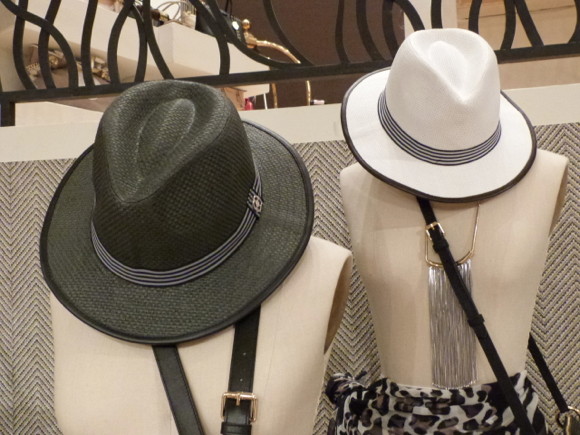 Henri Bendel for Spring 2015  hats
