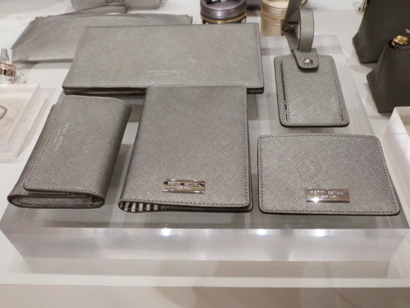 Henri Bendel for Spring 2015 small leather goods travel