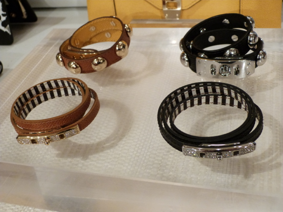 Henri Bendel for Spring 2015 wrap bracelets