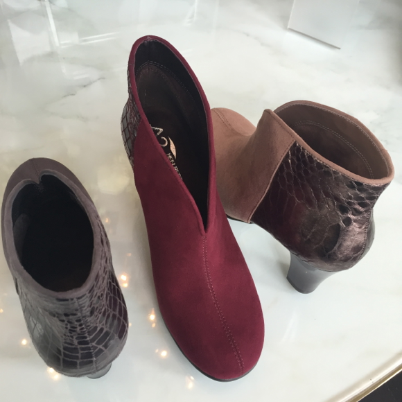 Aerosoles fall 2015 Gold Role Bootie