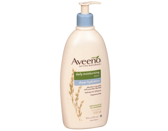Aveeno Active Naturals Daily Moisturizing Lotion Sheer Hydration