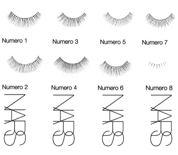 NARS false eyelashes