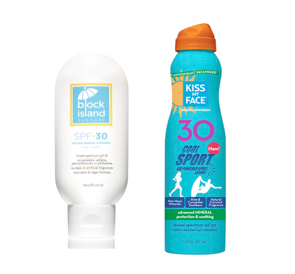 SPF natural sunscreen 2015