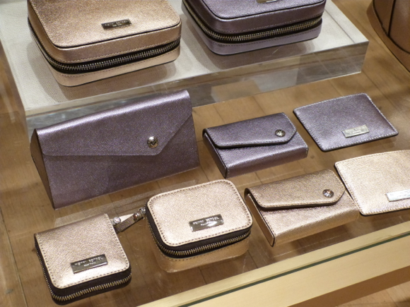 henri bendel small leather goods fall 2015