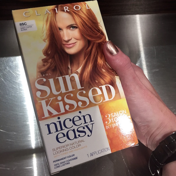 clairol sun kissed nice'n easy