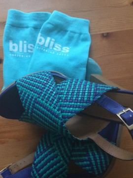 bliss spa socks