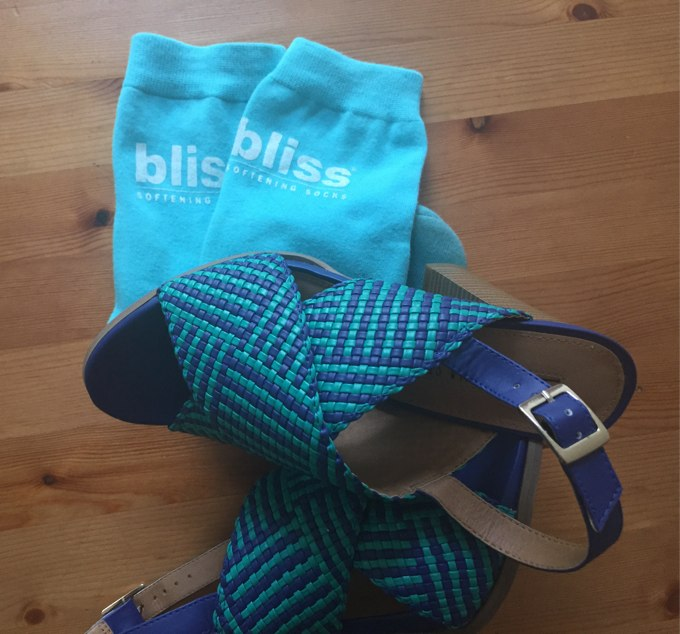 bliss spa socks