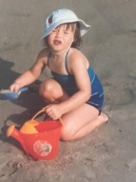 julia dinardo as a baby