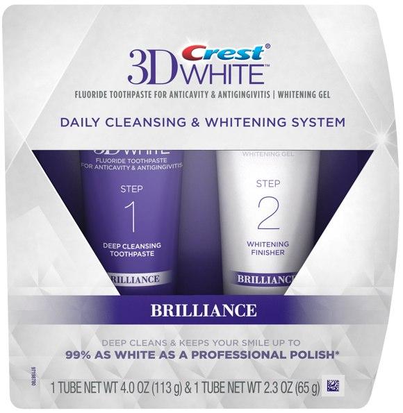 3D Crest White