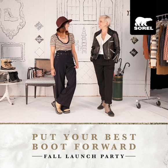 Sorel Fall launch party october 8th NYC