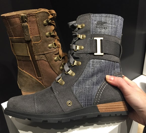 sorel footwear for fall 2015
