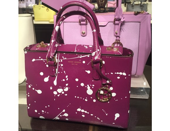 Henri Bendel spring 2016 splatter bag