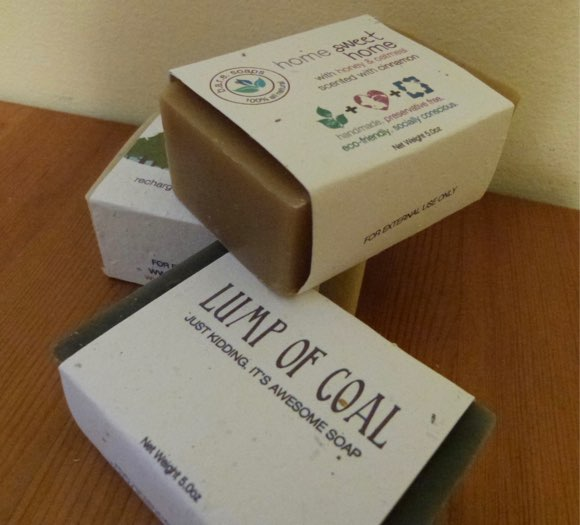 lump of coal soap bare soaps