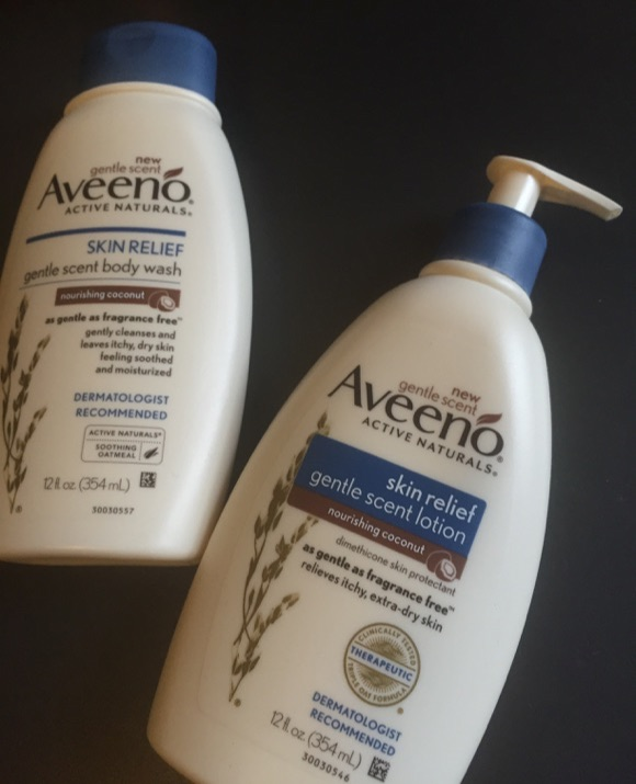 aveeno coconut lotion body wash