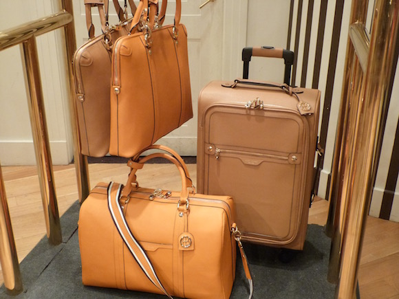henri bendel luggage 2016