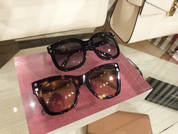 henri bendel over size sunglasses 2016
