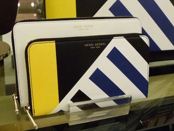 henri bendel nautical wallet 2016