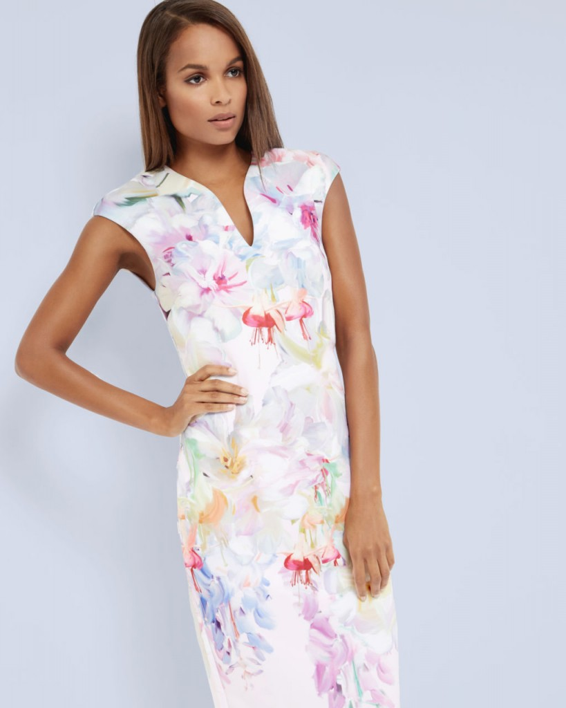 Bathany Hanging Gardens Bodycon Dress