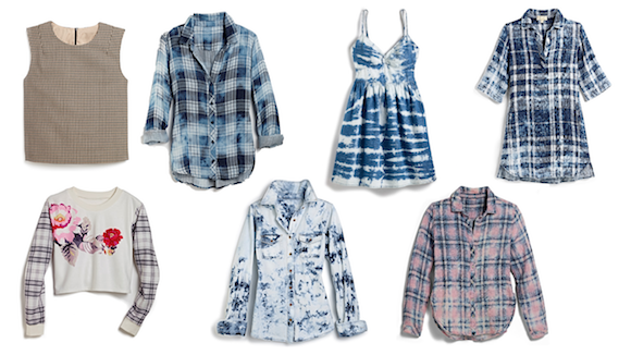 plaid trend women'swear
