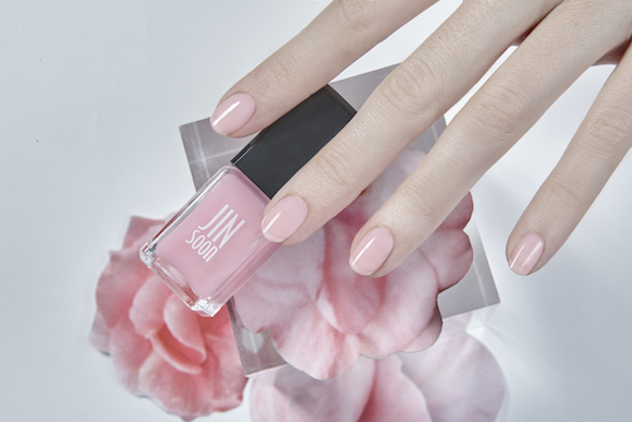 JINsoon nail polish tints blush