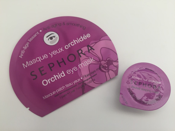 sephora orchid eye mask and sleeping mask