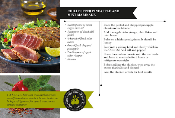 TOUC4332 Recipe Card_Chili Pepper Pineapple and Mint Marinade AW2