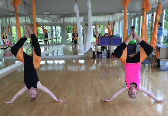the island house ant-gravity yoga