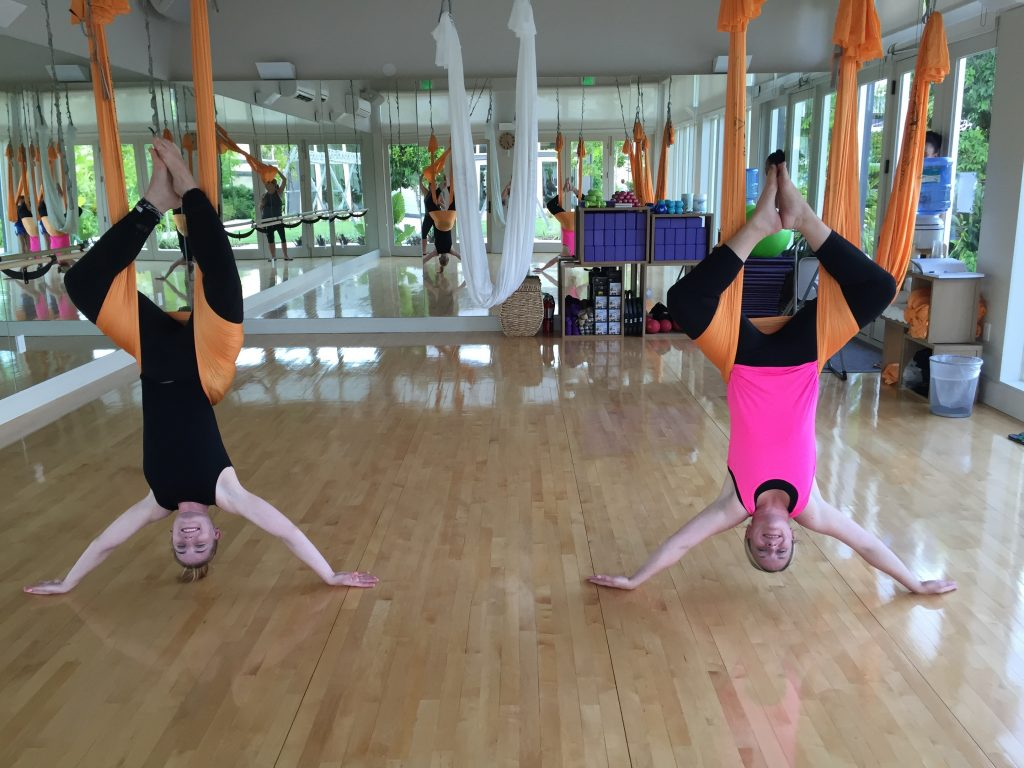 antigravity yoga the island house