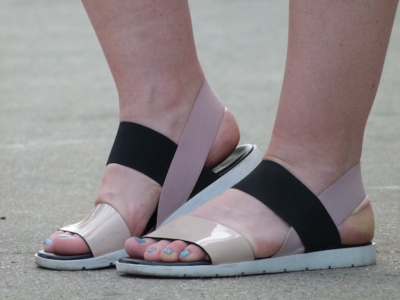 furla sandals personal style