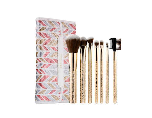 sephora sparkle and shine brush collection