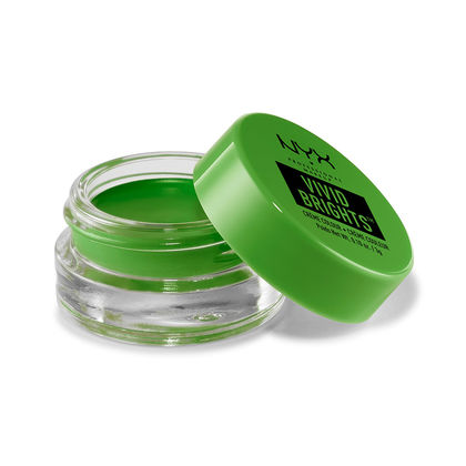 NYX Cosmetics Vivid Brights Creme Eye Color in True Green