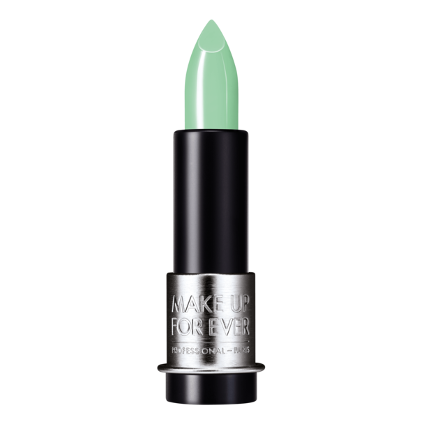 MakeUpForEver Artist Rouge Creme Lipstick in Peacock Green
