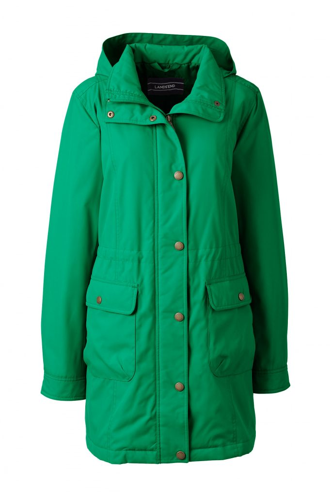 Lands End Women's Insulated Casual Parka