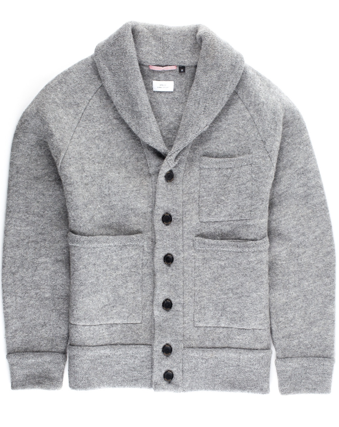 Apolis Alpaca Shawl Collar Cardigan