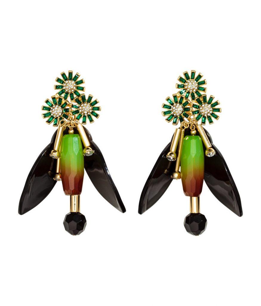 H&M Rhinestone Earrings