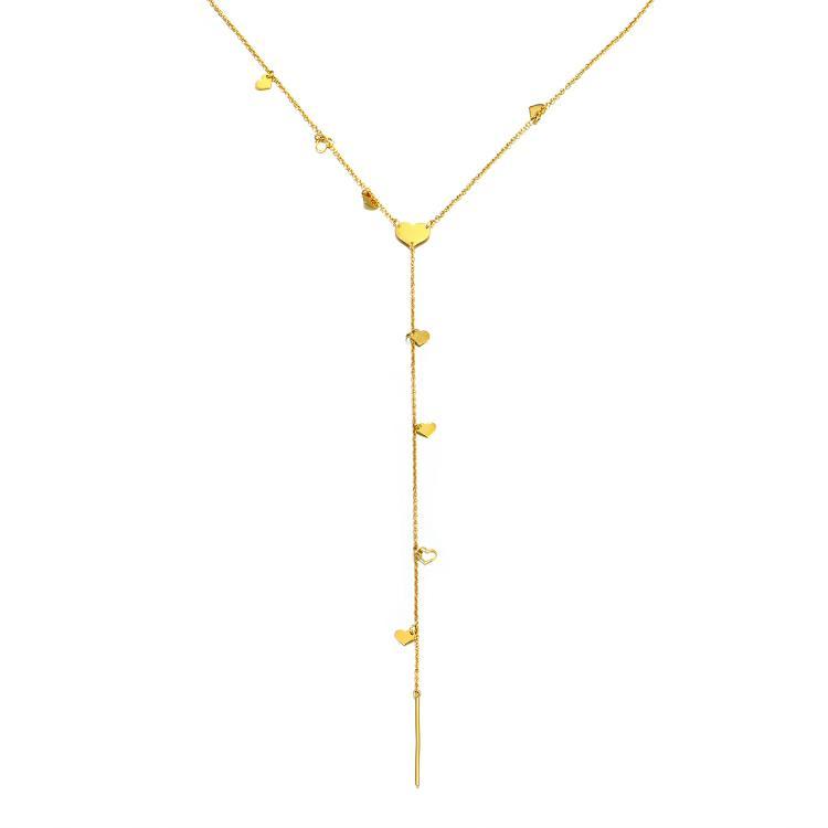 Motif Heart Y Necklace