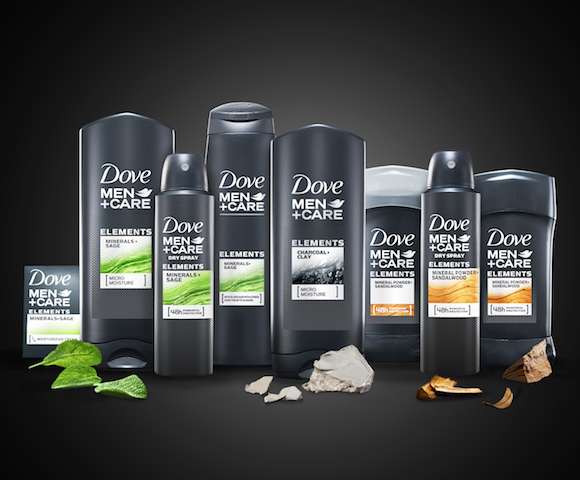 Introducing Dove Men Care Elements