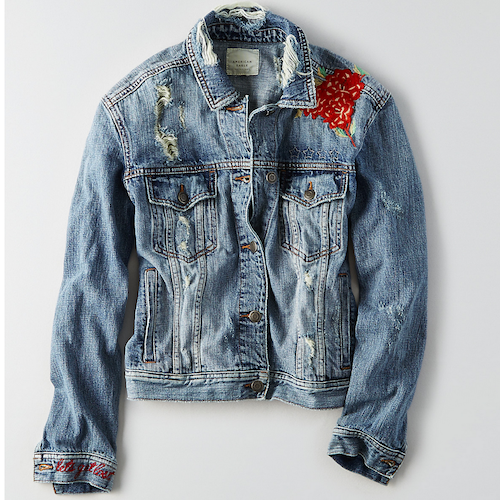 AEo denim coat